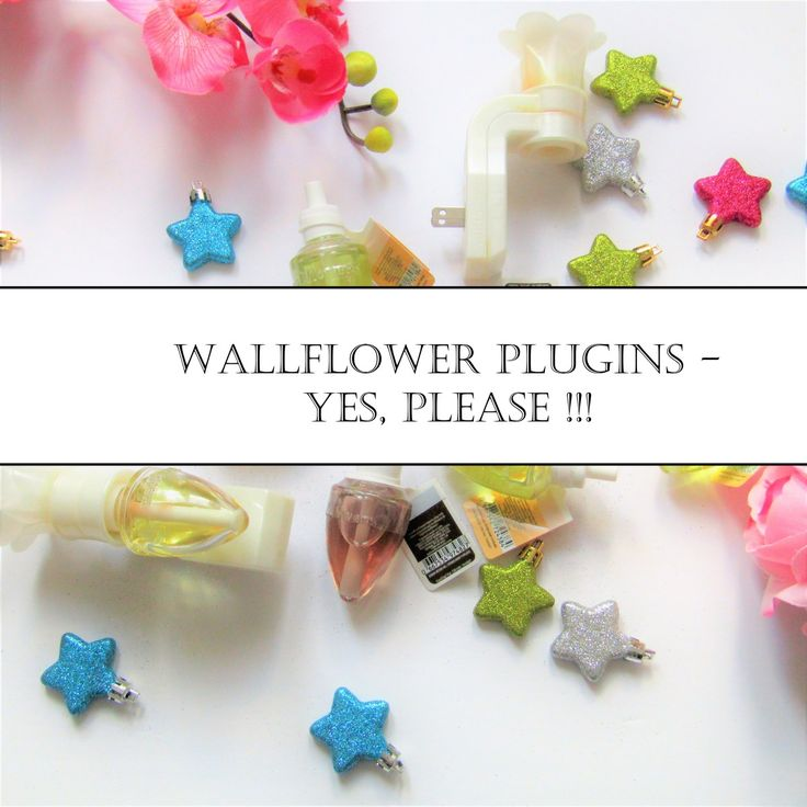 WALLFLOWER PLUGINS FOR YOUR HOME