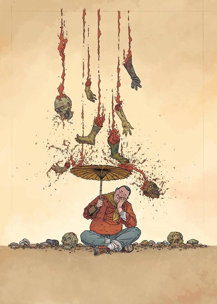 The Shaolin Cowboy #1-4 - Shemp Buffet by Geoff Darrow