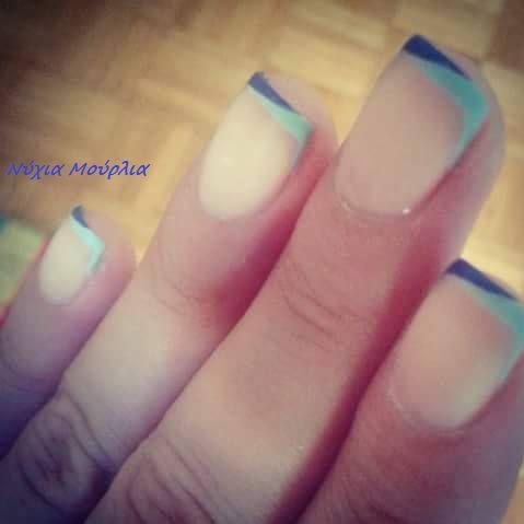 Allternative french manicure