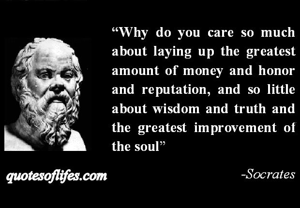 Truth and socrates