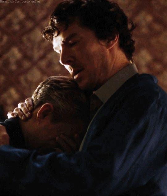 NOT A MANIP. not a manip! Johnlock. embrace.