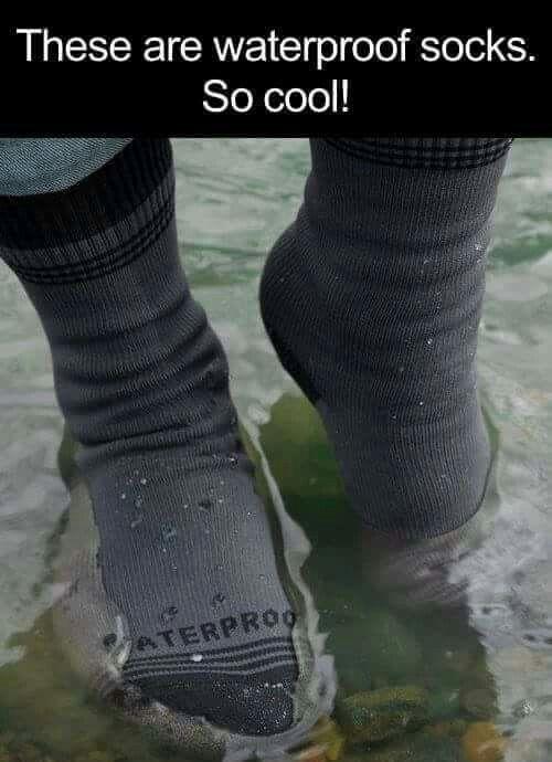 Waterproof socks                                                                                                                                                                                 More