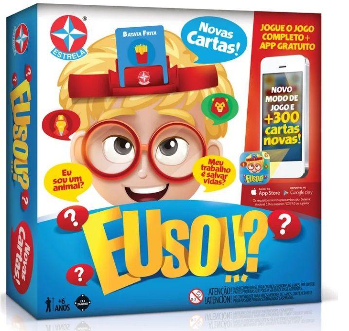 Jogo Eu Sou Novas Cartas E App Estrela Charadas Para Criancas Jogos Cartas
