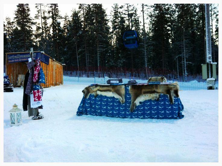 Pop Up Shop, the Lapland way.