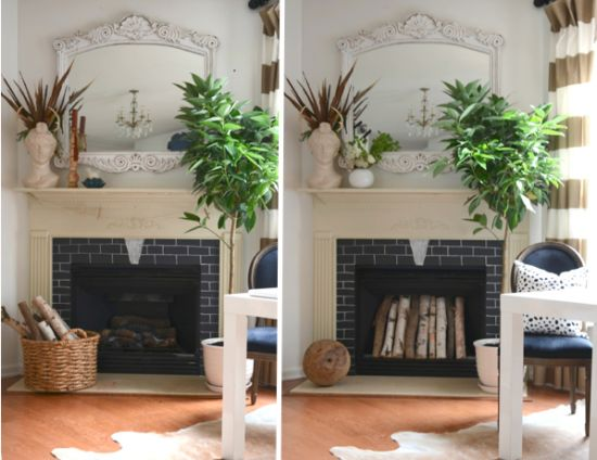 111 best Mantels & Off-Season Fireplace Displays images on ...