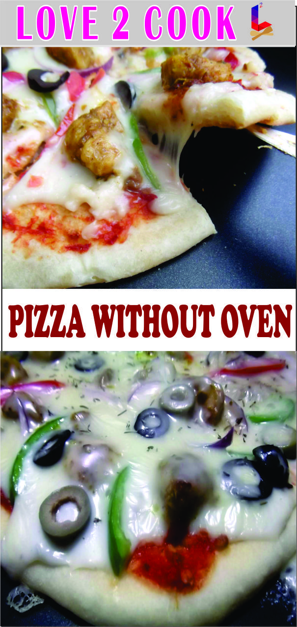 In This Video I Will Make Pizza Without Yeast And Without Oven