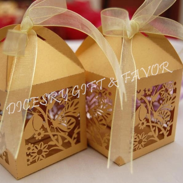 Butterfly design laser cut boxes made from rich shiny ivory cardstocks. Perfect gift for door & 14 best Door gifts images on Pinterest | Wedding ideas Dream ...