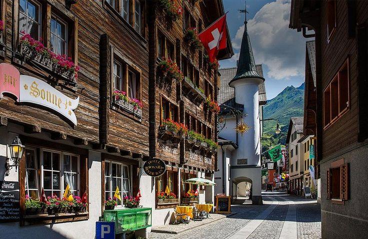 Charming Andermatt, Switzerland