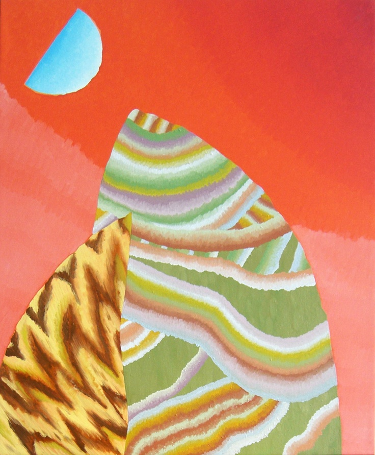 Amber Wilson, Tremulous Rampage, 2010, Oil on canvas