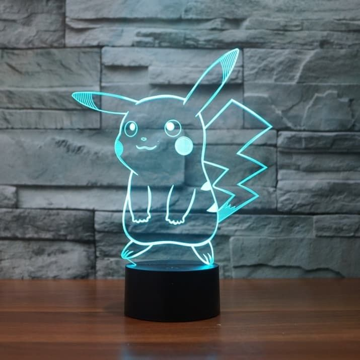 21 Cool Af Ways To Nerd Out At Home In 2020 3d Led Night Light 3d Night Light 3d Led Light