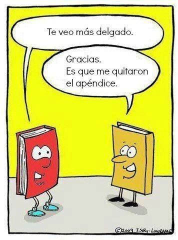 #humorbibliotecario preterito, pronombres, delgado