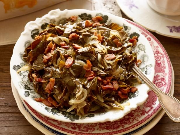 Best 25 cooking channel recipes ideas on pinterest food channel braised collard greens with bacon forumfinder Gallery