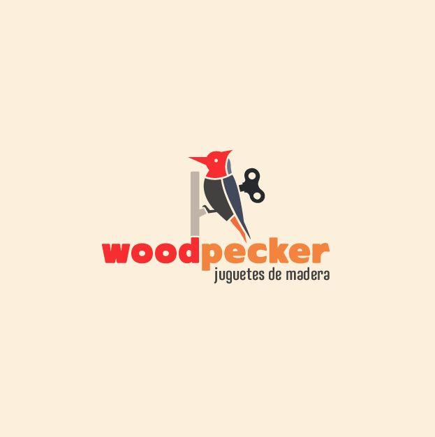Woodpecker Juguetes de madera.