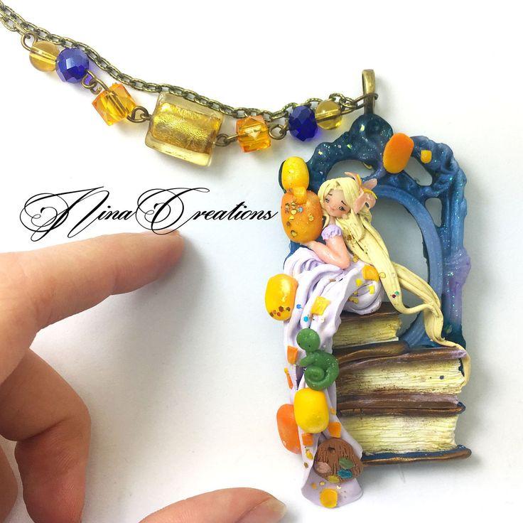 Little rapunzel necklace avaiable now ! unique piece