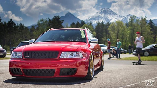 Oly is killing See with his sick RS4 on Rad48's #dubfiction #df #dfcrew #dfeurope #audi #rs4 #b5 #rad48  #worthersee #wsee #wortherseetour #ws2016 #velden #faak #austria #wörthersee #faakersee #gtitreffen #pyramidenkogel #reifnitz #veldenamworthersee #faakamsee