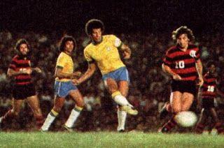 Taça Geraldo Cleofas Dias Alves: Flamengo 2x0 Seleção Brasileira (06/10/1976): Jogo em homenagem a Geraldo, jogador do Flamengo, que falecera meses antes, durante uma cirurgia.