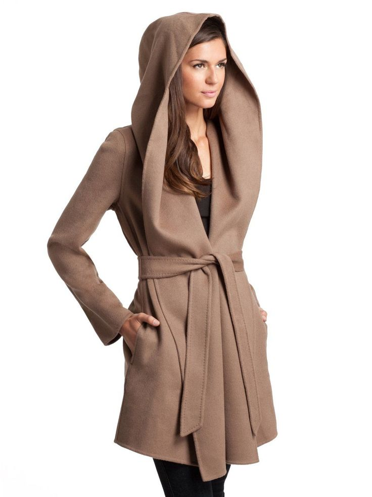 Mia Wool Wrap Coat