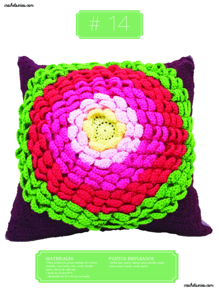 Crochet Almohadones #14