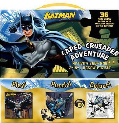 #Batman caped #crusader #adventure: activity book and 2-in-1 jigsaw puzzle,    pa,  View more on the LINK: http://www.zeppy.io/product/gb/2/381838764044/