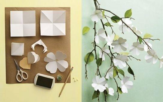 Tutorial fiori di carta