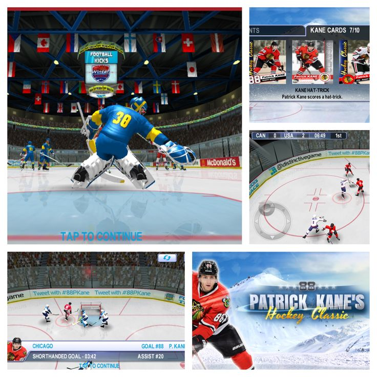 Play Hockey with Patrick Kane!  With a Chicago Blackhawks win last night, we're in the mood for some Patrick Kane's Hockey Classic today...   http://www.distinctivegames.com/?page_id=63&game=24  #play #icehockey #patrick #kane #chicago #blackhawks #88 #nhl #win #mobile #games #video #ios #android #amazon