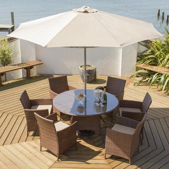 sale prices garden village uk port royal classic round dining 6 set fast delivery