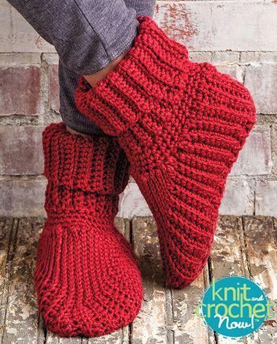 free crochet pattern slipper boots