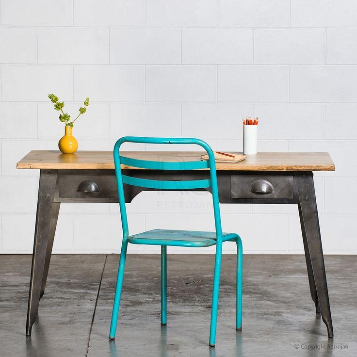 Marecellino Industrial Desk - Black    $499.00