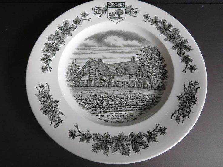 Anne of Green Gables commemorative plate