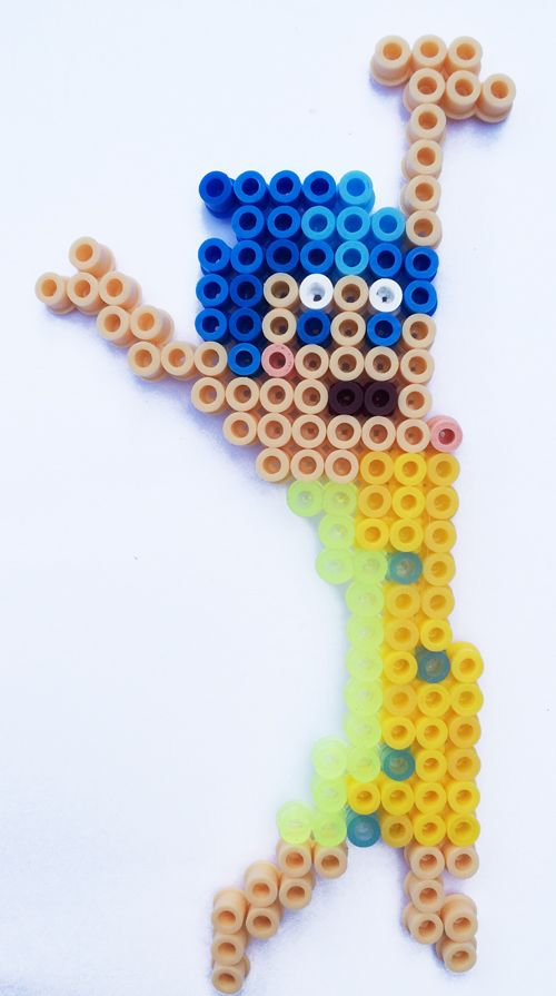 Disney Inside Out Hama Perler Bead patterns Joy 2