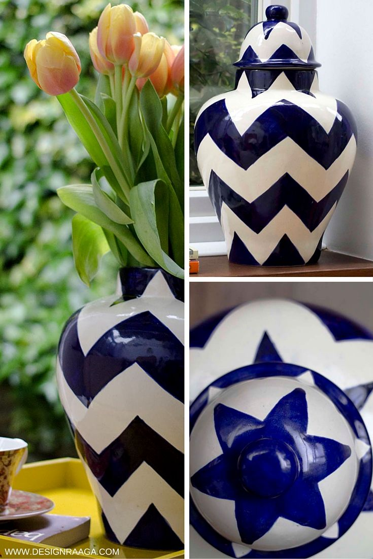 Modern design meets traditional mexican pottery | Ceramic Ginger Jar