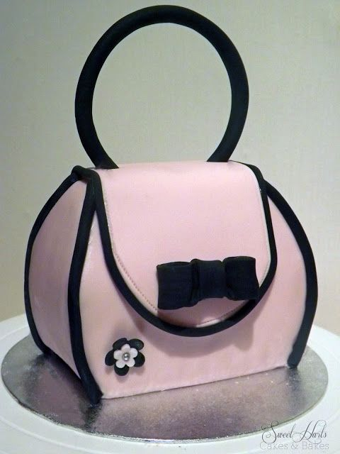 purse cake tutorial