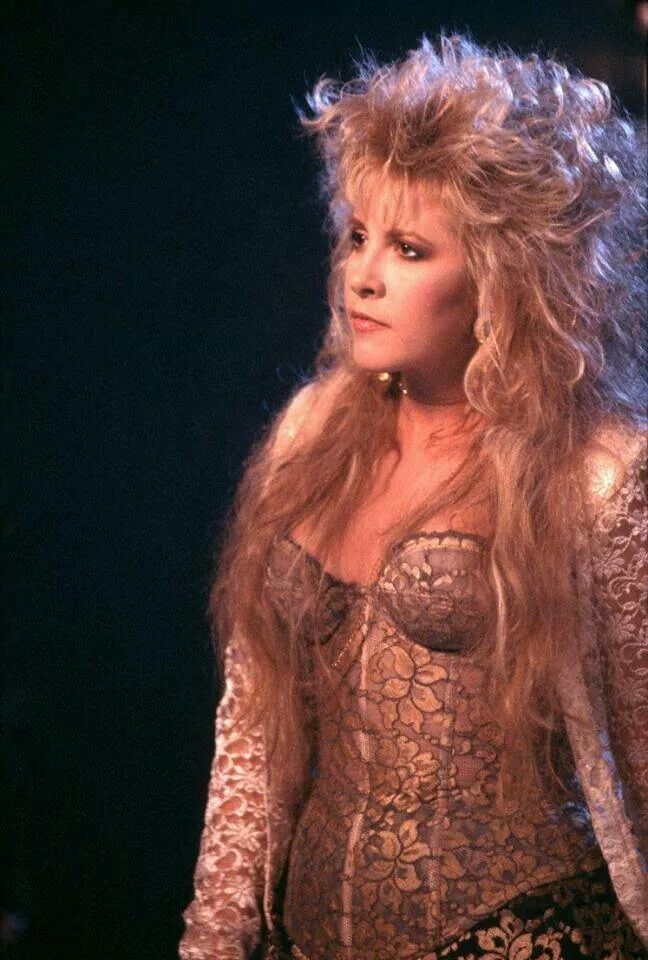 Stevie Nicks ♡ #stevienicks #fleetwoodmac I love this dress too!!!!