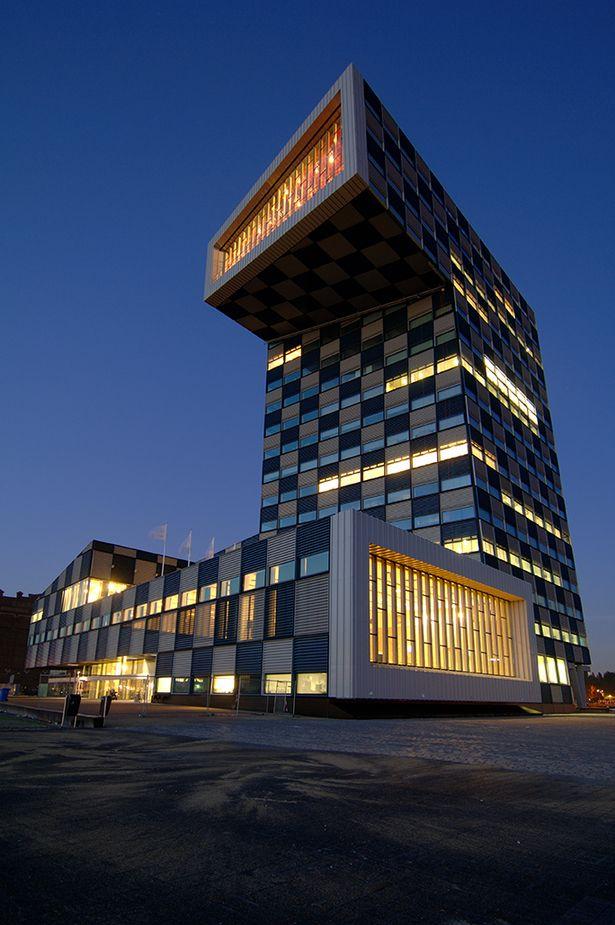 Shipping and Transport College   Neutelings Riedijk Architects; Photo: Jeroen Musch © Neutelings Riedijk Architects   Archinect