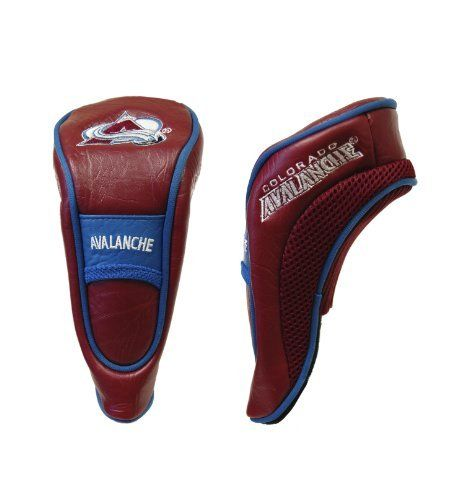 NHL Colorado Avalanche Hybrid Headcovers by Team Golf. $19.99. Fits all hybrid, utility and most fairway clubs. Includes 4 location embroidery, Velcro closure and fleece lining for extra club protection. Made of buffalo vinyl and acrylic mesh.