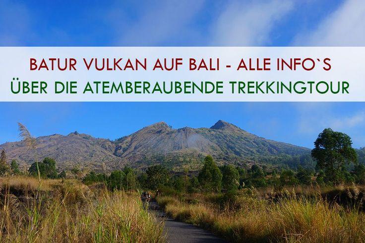 Batur Vulkan auf Bali Titelbild
