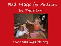 Child Talk: Red Flags for Autism in Toddlers