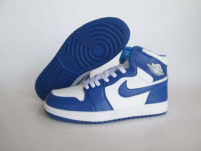 nike air jordan 1 bleu
