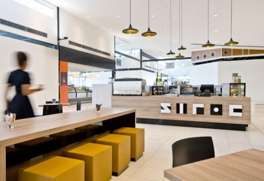 Siroc Espresso Bar -   A wonderful project from Enoki, a graphic design and interior architecture studio in Adelaide Australia.