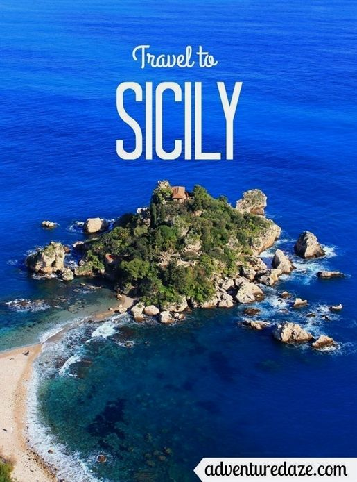 Sicily The Largest Island In The Mediterranean Lies Just Off The