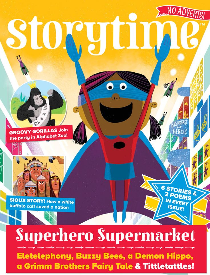 Storytime Issue 34 is zooming your way with our first Asian girl superhero plus fairytales, fables, poems, myths and more! SUBSCRIBE AT STORYTIMEMAGAZINE.COM