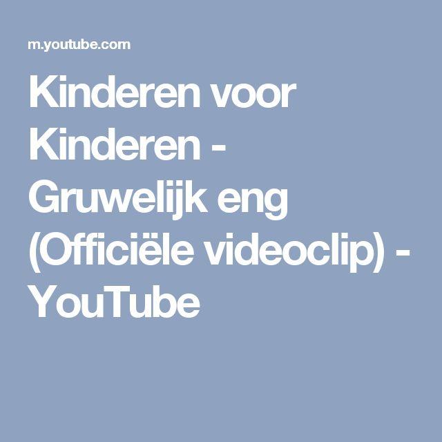 Kinderen voor Kinderen - Gruwelijk eng (Officiële videoclip) - YouTube