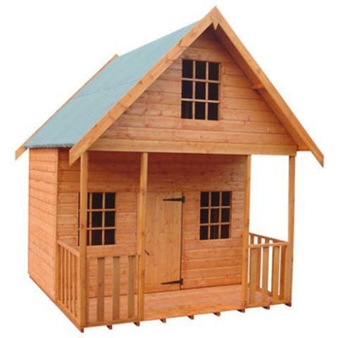 Strongman 8ft x 8ft (2.35m x 2.35m) Lodge Loglap Playhouse – Next Day Delivery Strongman 8ft x 8ft (2.35m x 2.35m) Lodge Loglap Playhouse from WorldStores: Everything For The Home