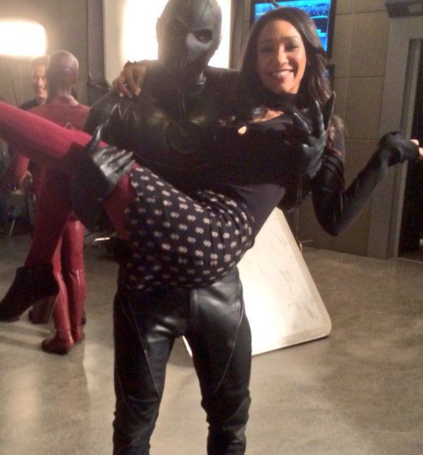Iris West and Zoom   The Flash