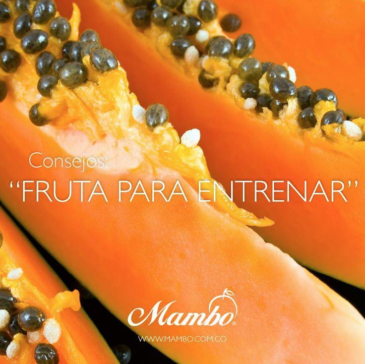 Fruta para entrenar. http://mambo.com.co/consejos/detalle?id=11&categoria=3