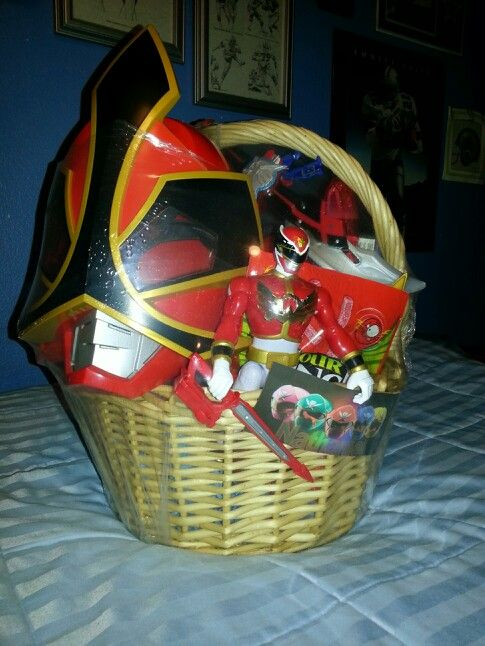 Power Rangers Easter Basket My Projects Pinterest