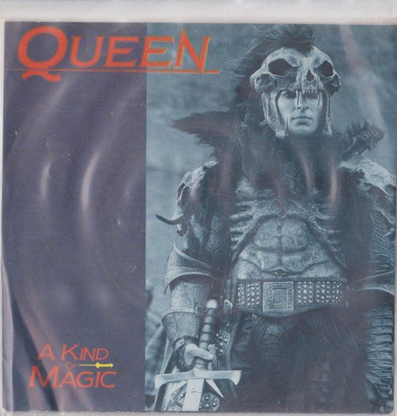 Queen A Kind Of Magic 1986 South Africa Issue Rare 7 45 Vinyl Single Record Highlander Rock Pop 80s Freddie Mercury Music May Emij2011167 A Kind Of Magic Vinyl Records Vinyl