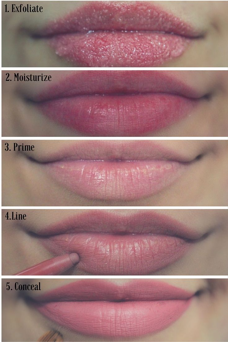 How to properly apply matte lipstick. Tips & Tricks for ...