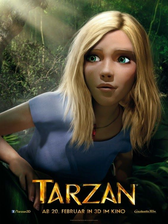 Tarzan 2013 Full Movie Hindi Dubbed 300MB Free Download HD