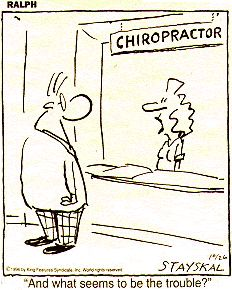 Chiropractic Humor « Chiropractic Discussions